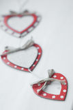 Coeurs hors de carton et de papier Image stock