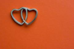 Coeurs joints Images libres de droits