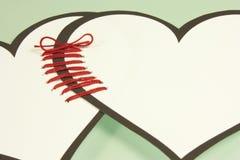 Coeurs liés Photo libre de droits