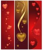 Coeurs magiques Photographie stock