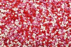 Coeurs multicolores Symbole de l'amour Image libre de droits