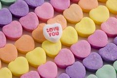 Coeurs numéro 7 Photographie stock libre de droits