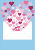 Coeurs oscillants Photographie stock libre de droits