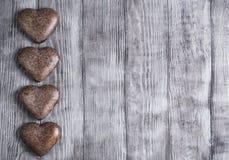 Coeurs pour le jour de Valentine Photographie stock libre de droits