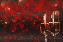 Coeurs pour le jour de valentines Photos libres de droits