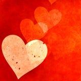 Coeurs rouges illustration libre de droits