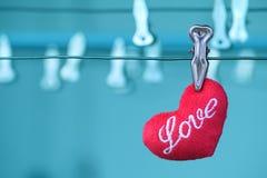Coeurs rouges, amour pour la Saint-Valentin Photographie stock