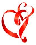Coeurs rouges de bande illustration libre de droits