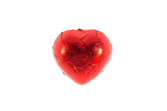 Coeurs rouges de chocolat Photos libres de droits