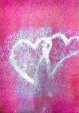 Coeurs sales Image libre de droits