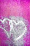 Coeurs sales Photo libre de droits