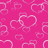 Coeurs sans joint Photographie stock libre de droits