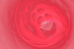 Coeurs spiralés Images stock