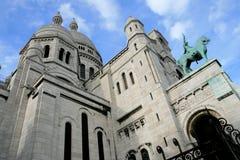coeursacr för 3 basilique Fotografering för Bildbyråer