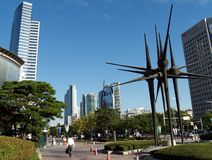 COEX World Trade and Exhibition Centre, Seoul. World Trade Tower, COEX, Convention and Exhibition Centre, Seoul, South Korea Stock Photo