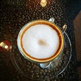 Cofee拿铁 免版税库存图片