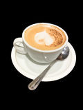 Cofee με το γάλα Στοκ εικόνες με δικαίωμα ελεύθερης χρήσης