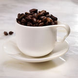 cofee φασολιών Στοκ εικόνα με δικαίωμα ελεύθερης χρήσης