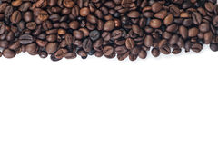 Cofee beans on white. Cofee beans isolate on white background stock images
