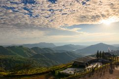 Cofee cafe on hill. Province,Thailand royalty free stock photography