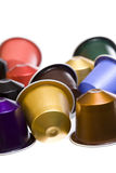 Cofee capsules Stock Images