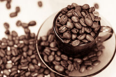 Cofee closeup Royalty Free Stock Images