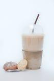 Cofee con las galletas Foto de archivo