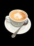 Cofee con latte Immagini Stock Libere da Diritti