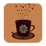 Cofee cup icon. Cofee cup icon Stock Photography