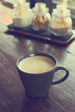 Cofee cup on table vintage color Stock Photo