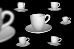 Cofee cups Stock Photos