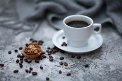 Cofee e dolci Immagine Stock