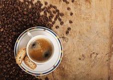 cofee gorący świeży Obrazy Royalty Free