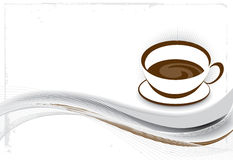 Cofee illustration Royalty Free Stock Image