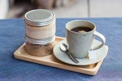 Cofee Set Stockfoto