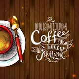 Cofee tło Fotografia Royalty Free