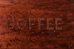 Cofee znak II zdjęcie stock