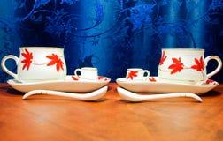 cofeekoppar Royaltyfria Bilder