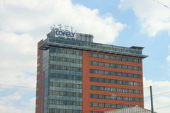 Cofely Frankfurt fotografering för bildbyråer