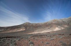 Cofete Plażowa Wycieczkuje trasa Fuerteventura obraz royalty free