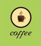 Coffe商标茶咖啡巧克力 库存照片
