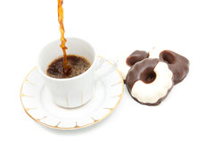 coffe早晨 免版税库存照片