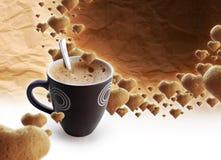 coffe时间 库存照片