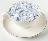 coffe杯子脱氧核糖核酸 库存照片