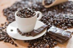 coffe κούπα Στοκ φωτογραφία με δικαίωμα ελεύθερης χρήσης