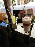 Coffe & χυμός Στοκ φωτογραφία με δικαίωμα ελεύθερης χρήσης