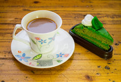 Coffe и торт Стоковое фото RF