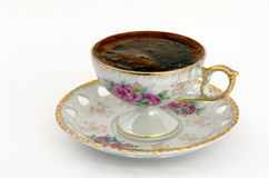 Coffe. Cup from black coffee Royalty Free Stock Photo