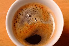 黑色coffe 库存图片