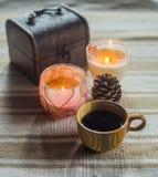 杯coffe 库存图片